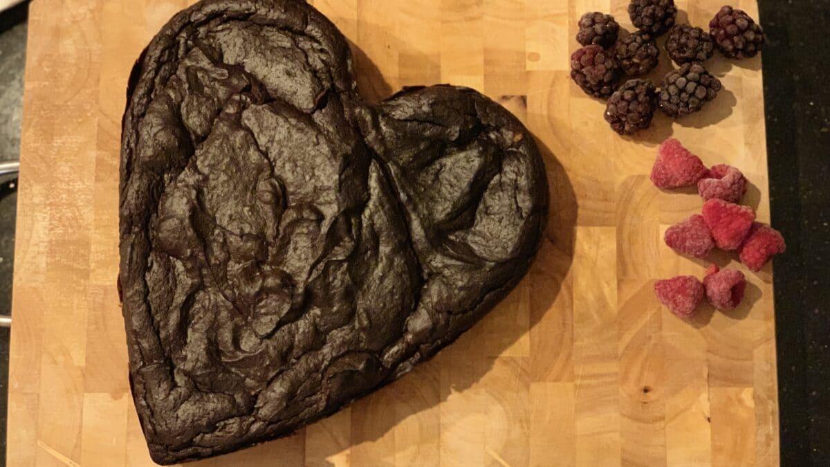 Den lækreste keto avocado brownie