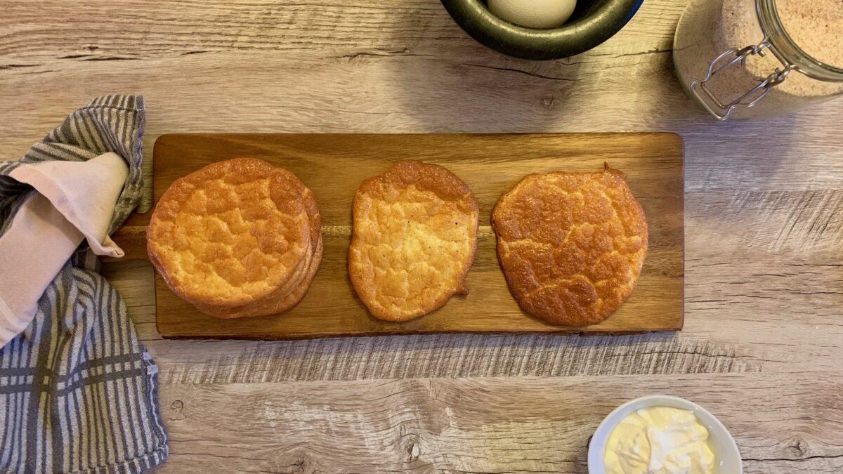 Oopsies – luftigt brød