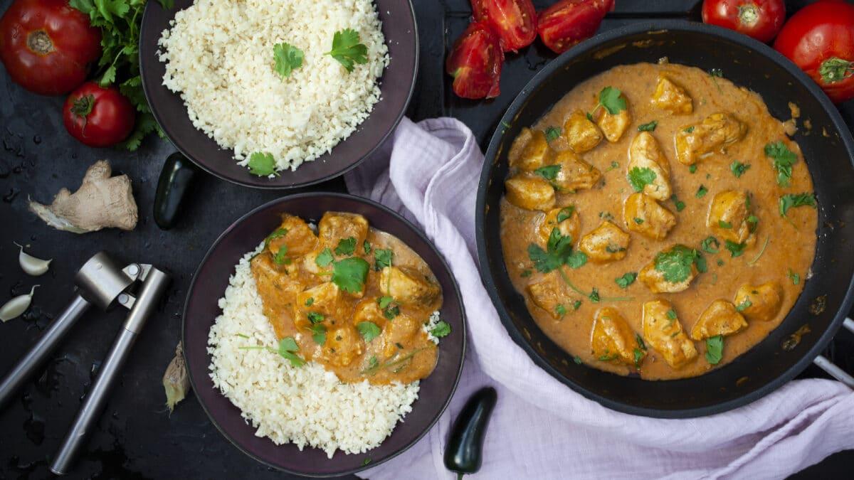 Indisk KETO butterchicken