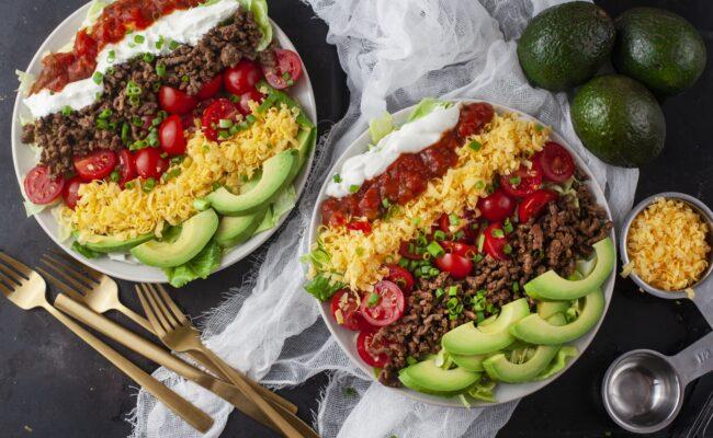 ketoliv-Hurtig og lækker tacosalat med hakket oksekød-overview