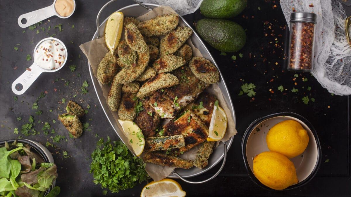 Fish and chips Keto