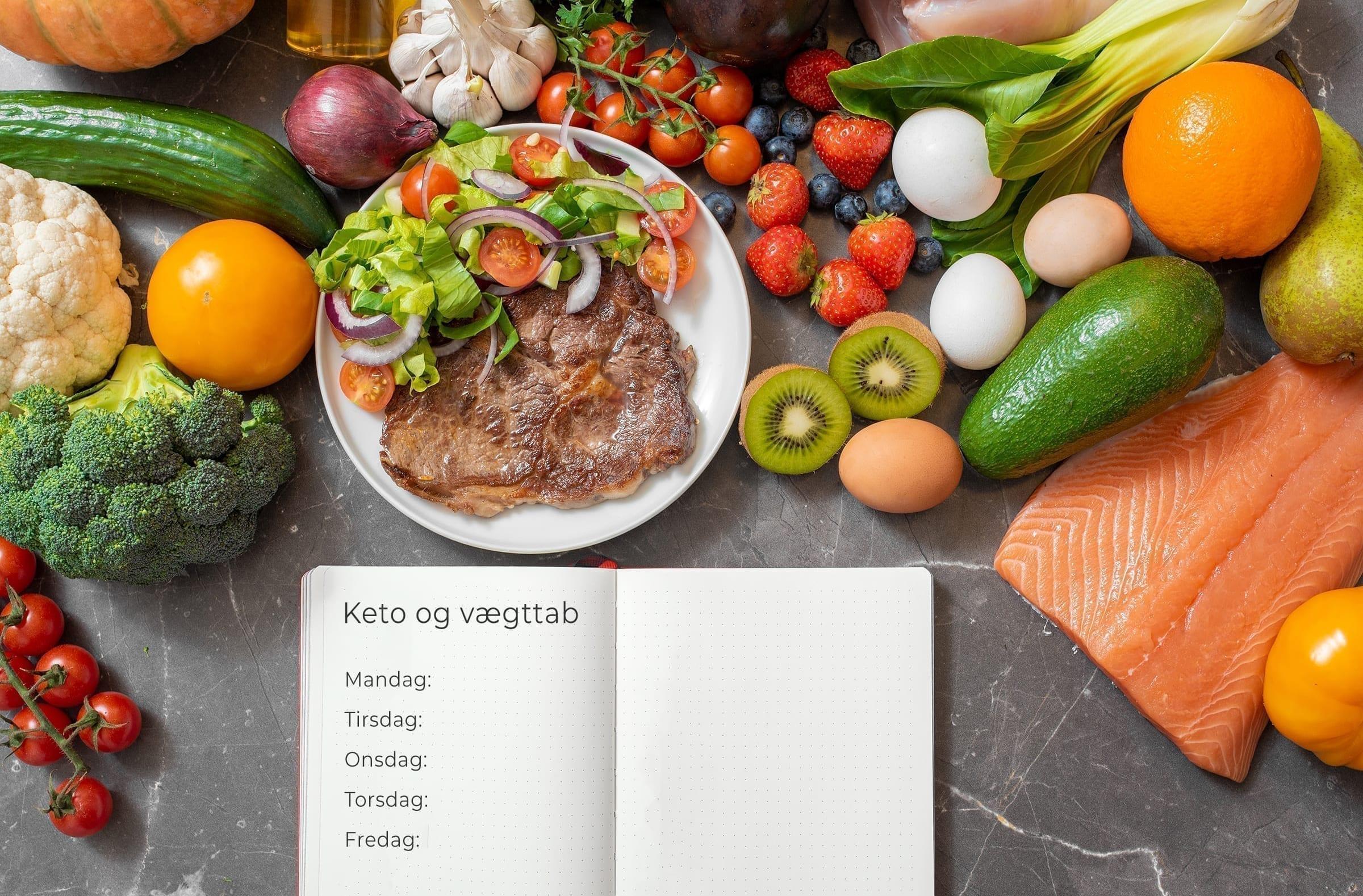Guide til vægttab med keto